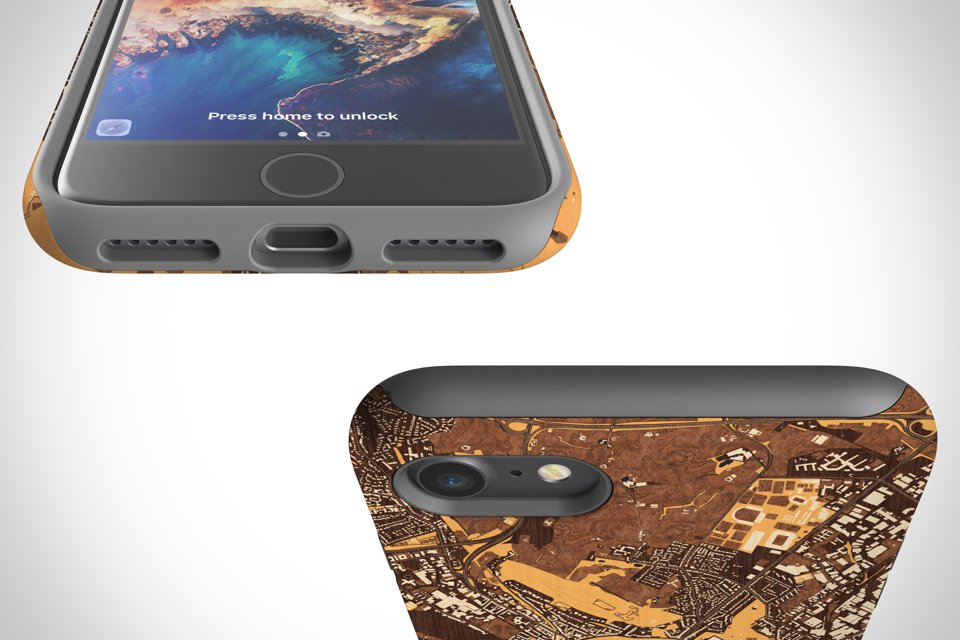 Tough case has dual layer of protection and easy access to ports