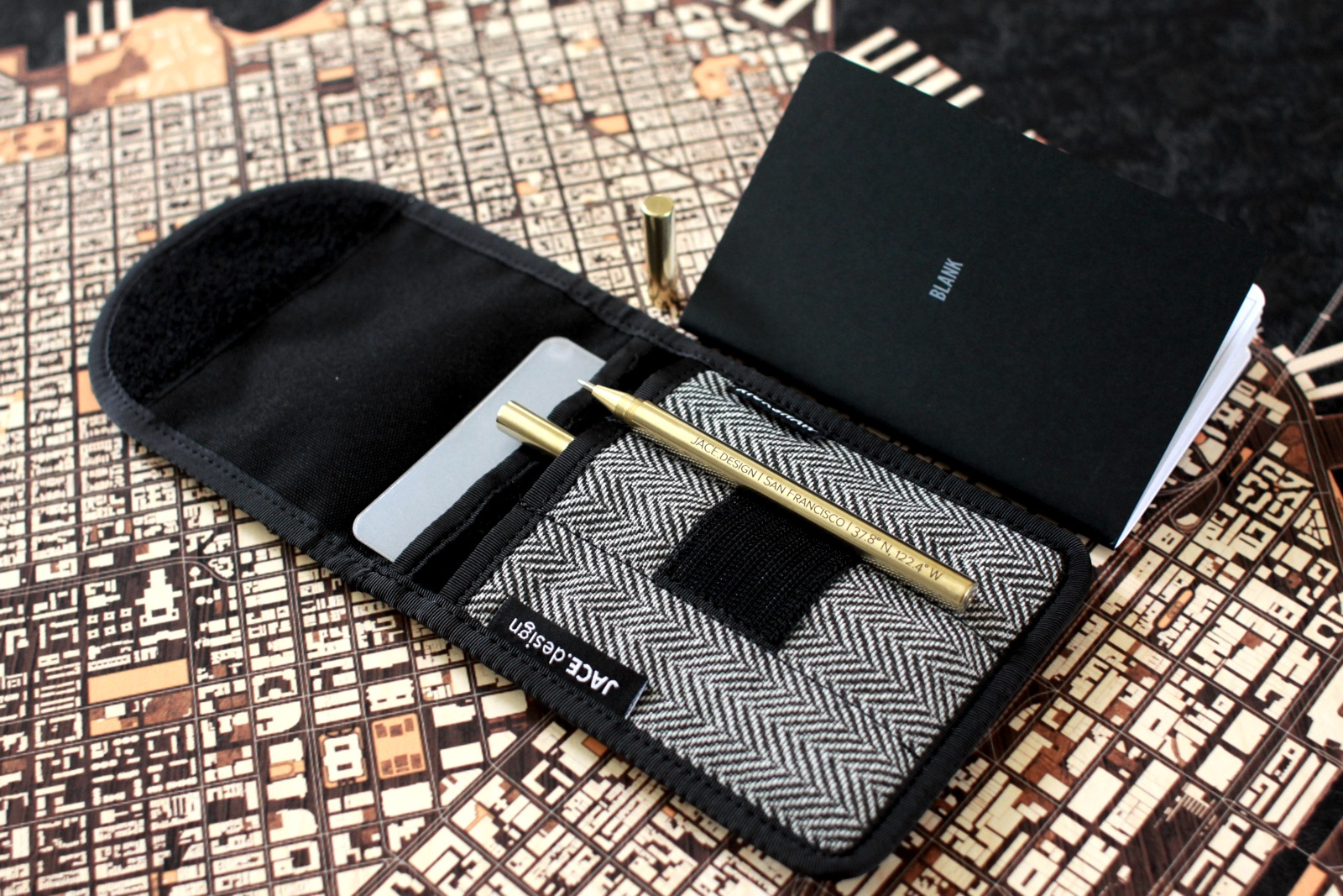 Special Gift While Supplies Last - A Rickshaw Pen Case, Notebook, with each Engraved Brass Pen
