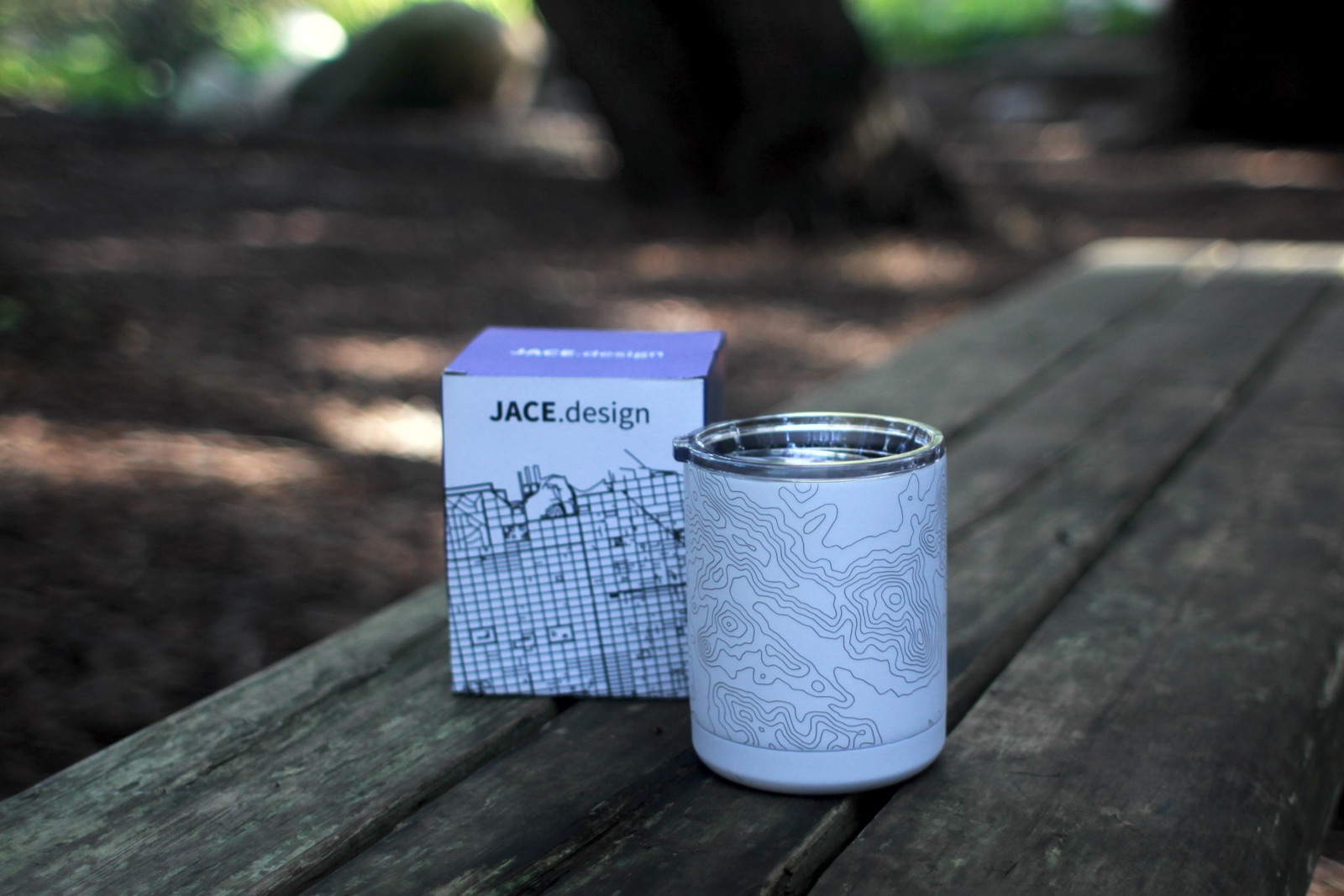 10oz Cup in Artic White with Box