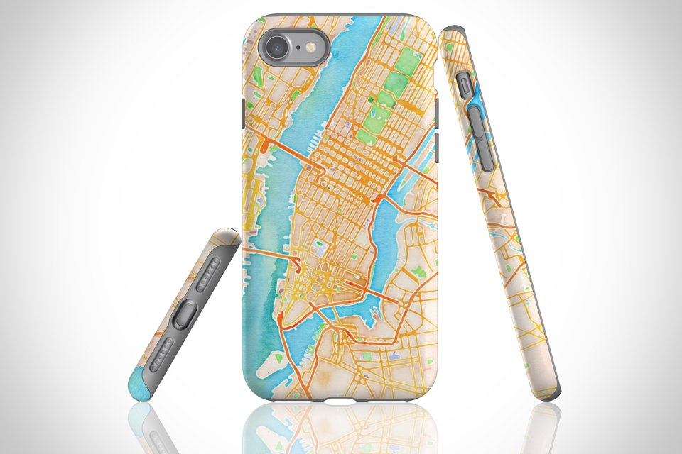 Map Cases - The Tough Case is built to keep your smartphone protected and secure. It boasts a dual layer case for extra durability and protection.